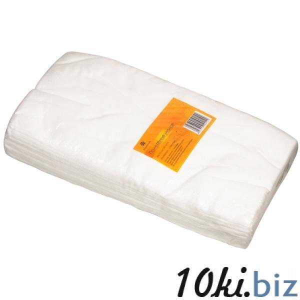Полотенце малое 35*70 см белое (50шт в пачке) Полотенца  в России