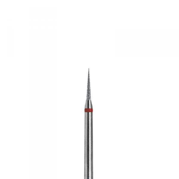 Фреза алмазная конусная заостренная 1,2 мм, 5 шт/уп