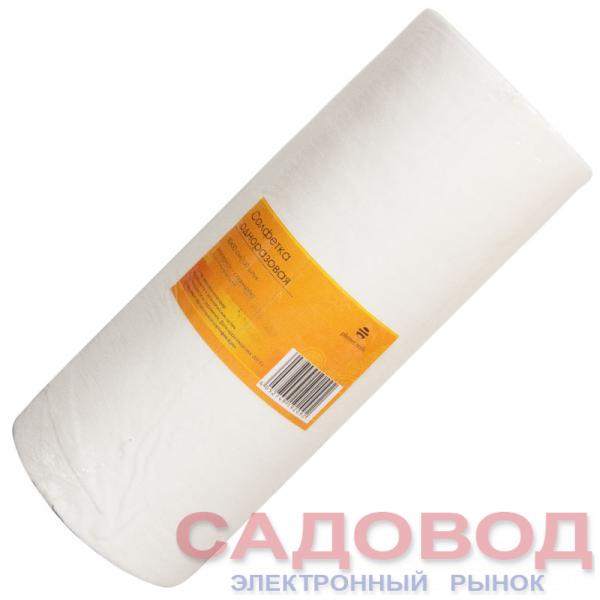 Салфетка одноразовая 30*30 см белая (100шт в рул) Одноразовая продукция для салонов красоты на рынке Садовод