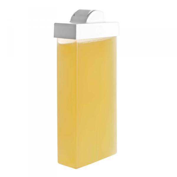 Воск в картридже желтый с маленьким роликом100 мл