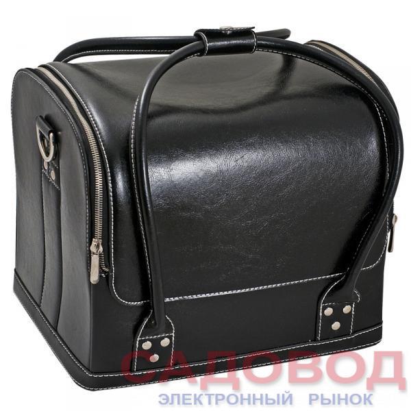 Сумка-чемодан черная MAX Чемоданы и кейсы для мастеров маникюра на рынке Садовод