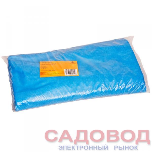 Простыня одноразовая голубая 70*200см (10шт в пач) Одноразовая продукция для салонов красоты на рынке Садовод
