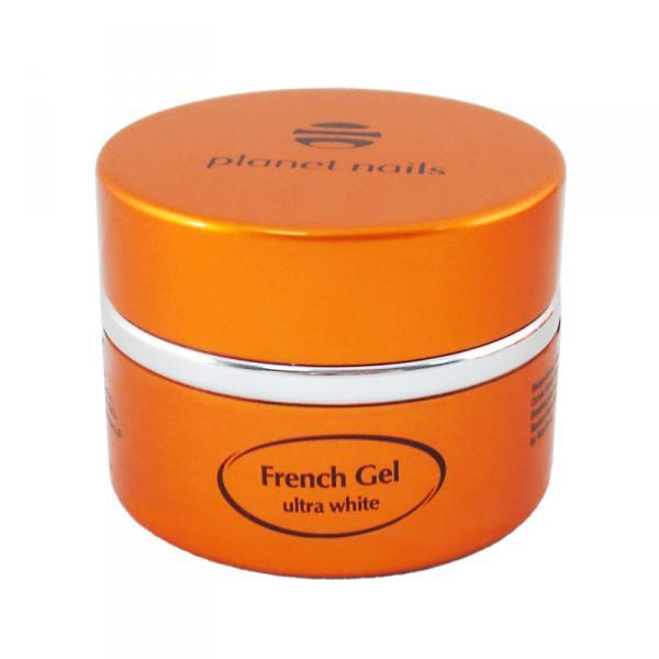 Гель френч Planet Nails - Ultra White French Gel ультра-белый густой вязкости 15г