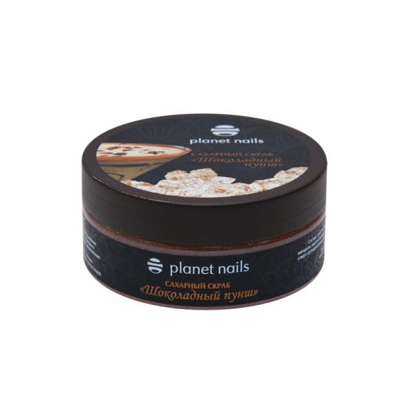 Скраб для тела Planet Nails Шоколадный пунш 170 г