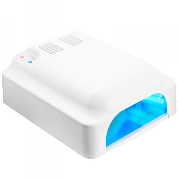 УФ лампа 36W ASN Profi белая с вентилятором