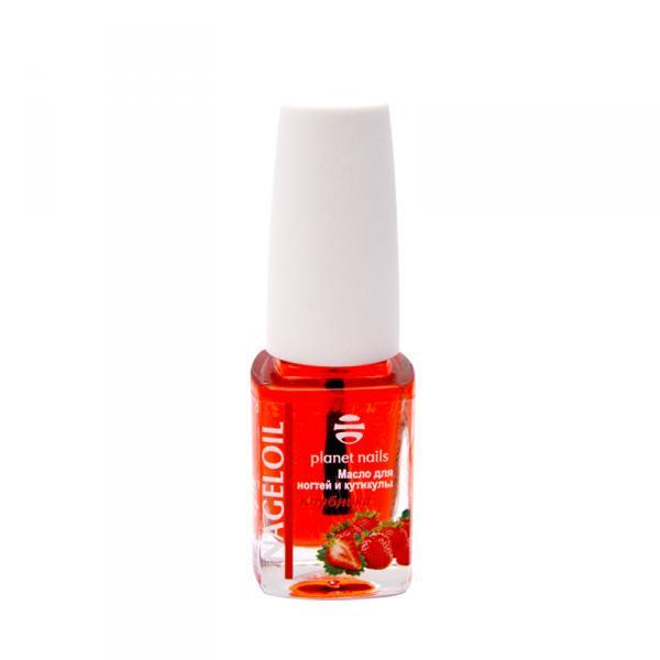 Масло для ногтей и кутикулы PN-Nageloil клубника 11мл