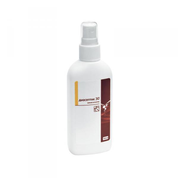Диасептик 30 - спрей-антисептик для кожи 100 мл