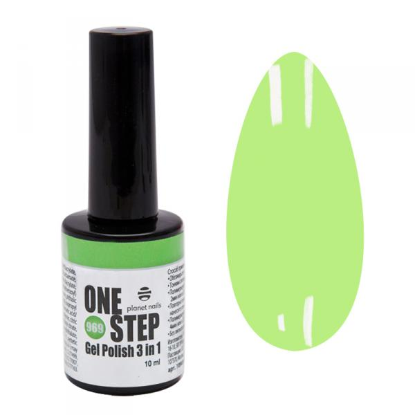 Гель-лак Planet Nails, ONE STEP - 969, 10мл