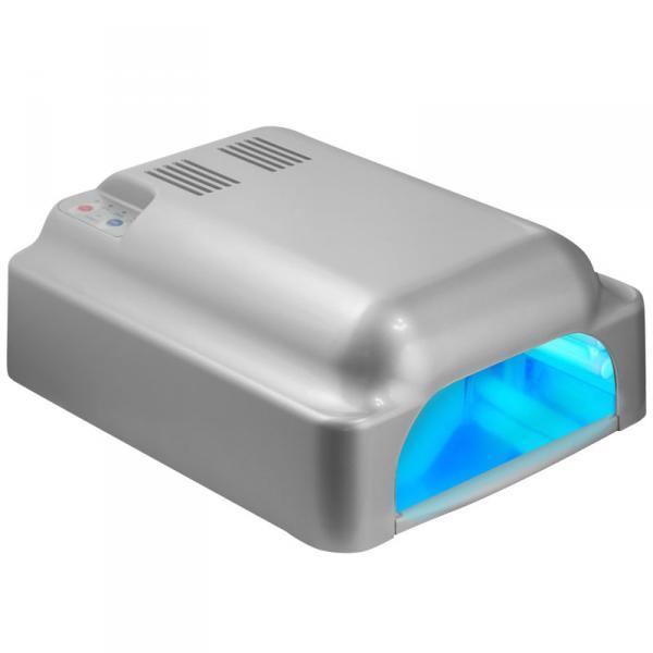 УФ лампа 36W ASN Profi с вентил. серебряная