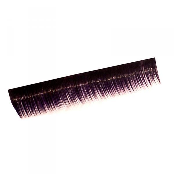 Ресницы на полосках фиолетовые,соболь 8мм, 10 пол.