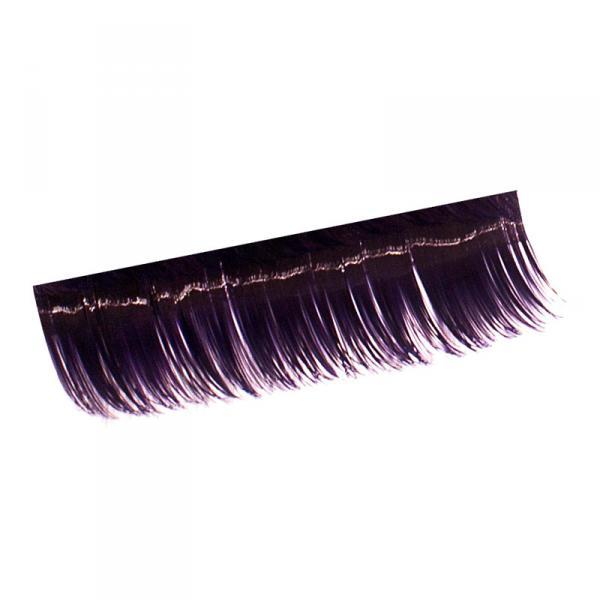Ресницы на полосках фиолетовые,соболь 15мм,10 пол.