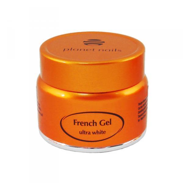 Гель френч Planet Nails - Ultra White French Gel ультра-белый густой вязкости 5г