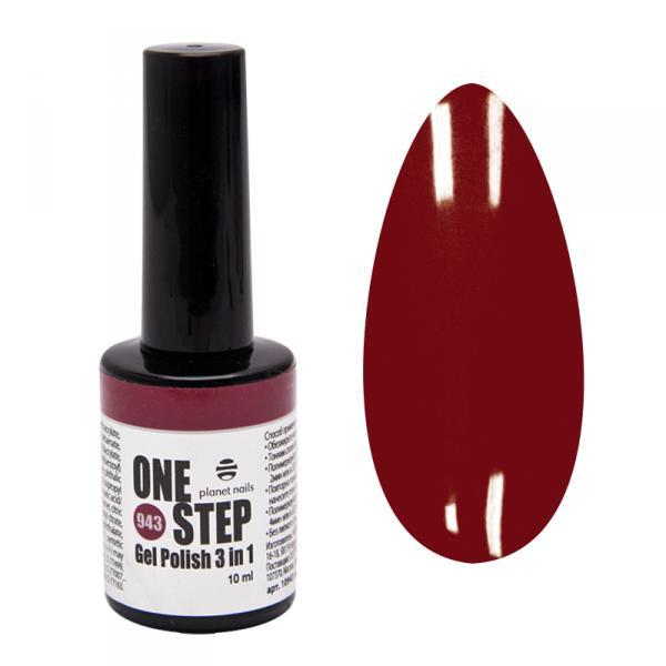 Гель-лак Planet Nails, ONE STEP - 943, 10мл