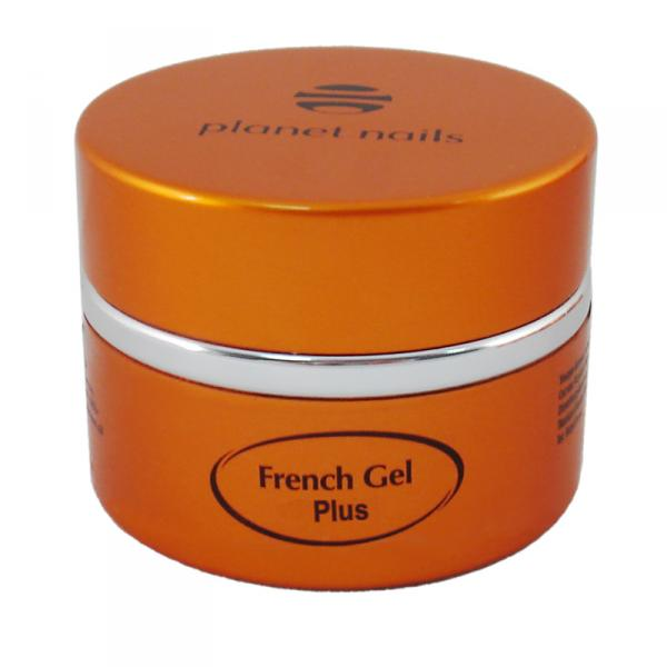 Гель френч Planet Nails - White Plus French Gel белый 15г