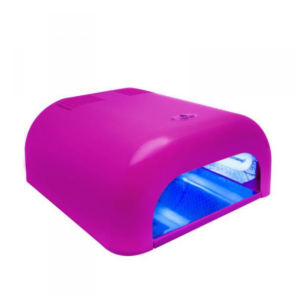 УФ лампа 36W Tunnel Econom розовая