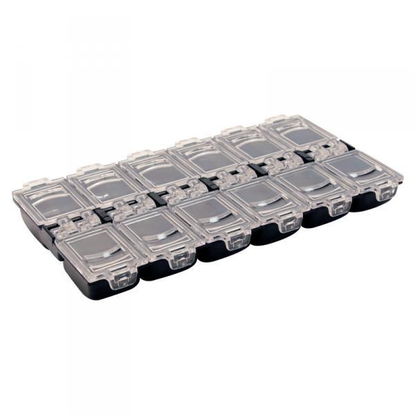 Контейнер пластиковый, 12 ячеек
