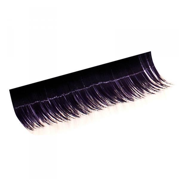 Ресницы на полосках фиолетовые,соболь12 мм, 10 пол