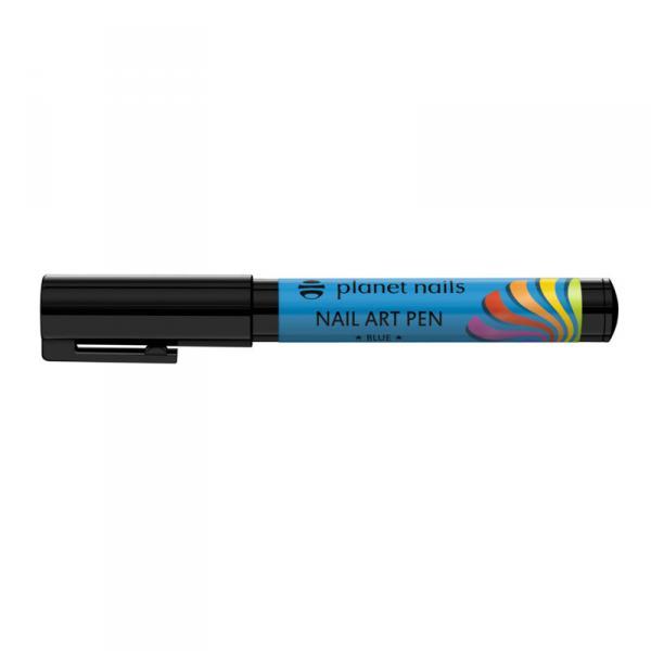Карандаш для дизайна Nail Art Pen голубой