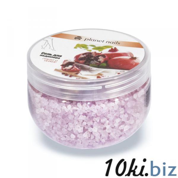 Соль для педикюра Planet Nails Гранат и инжир 350гр Шарики для маникюра, Соли для маникюра и педикюра в России