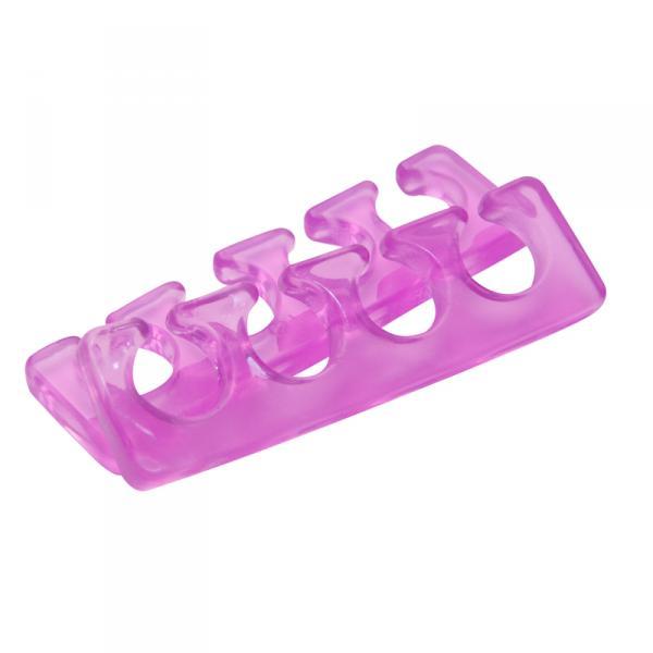 Разделитель пальцев ног, силиконовый, цветной, 2 штуки
