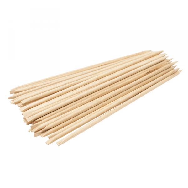 Палочка маникюрная деревянная 18 см, 100 шт/уп
