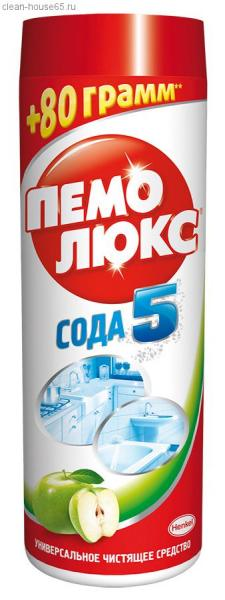 Универсальный чистящий порошок Пемолюкс  480мл. ассорти