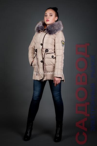 Аляска женская зимняя 3829 Куртки женские на рынке Садовод