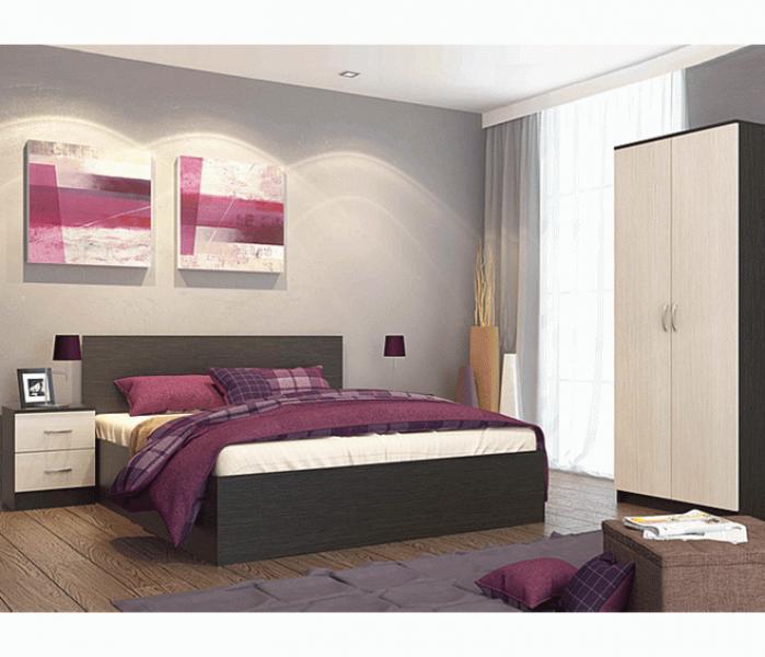 Фото Мебель для спальни Модульная спальня Ронда (комплектация 1)