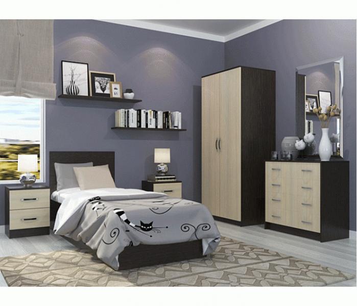 Фото Мебель для спальни Модульная спальня Ронда (комплектация 2)