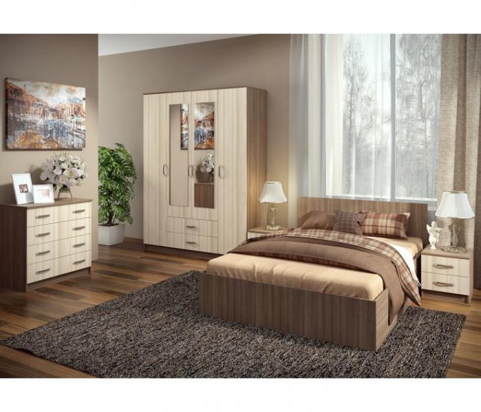 Фото Мебель для спальни Модульная спальня Ронда (комплектация 3)