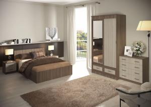 Модульная спальня Ронда (комплектация 7)
