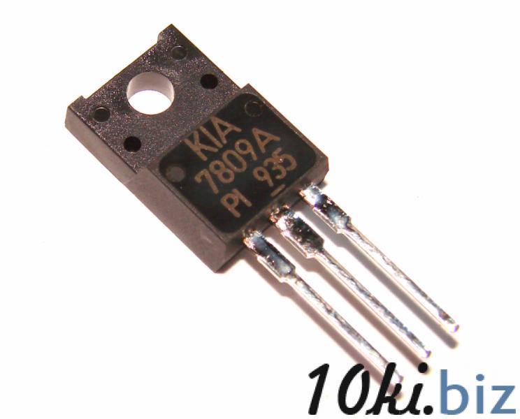 Микросхема стабилизатор напряжения KIA7809 оригинал Интегральные микросхемы на Электронном рынке Украины