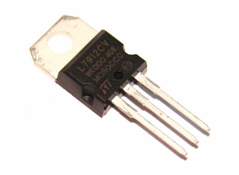 Микросхема стабилизатор напряжения 7912