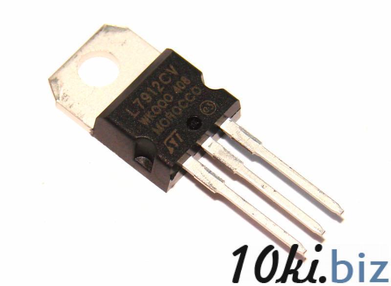 Микросхема стабилизатор напряжения 7912 Интегральные микросхемы на Электронном рынке Украины