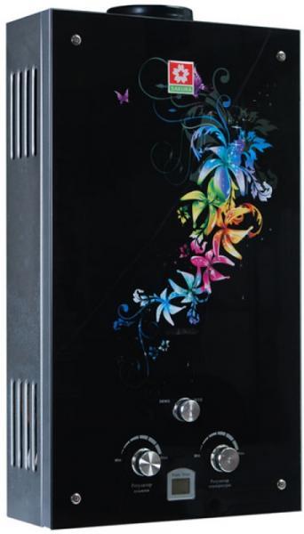 Газовая колонка RODA A5 цветы стекло