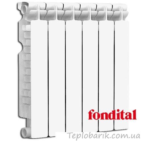 Фото Радиаторы отопления, Биметаллические радиаторы Биметаллический радиатор FONDITAL ALUSTAL 500x100 (Италия)