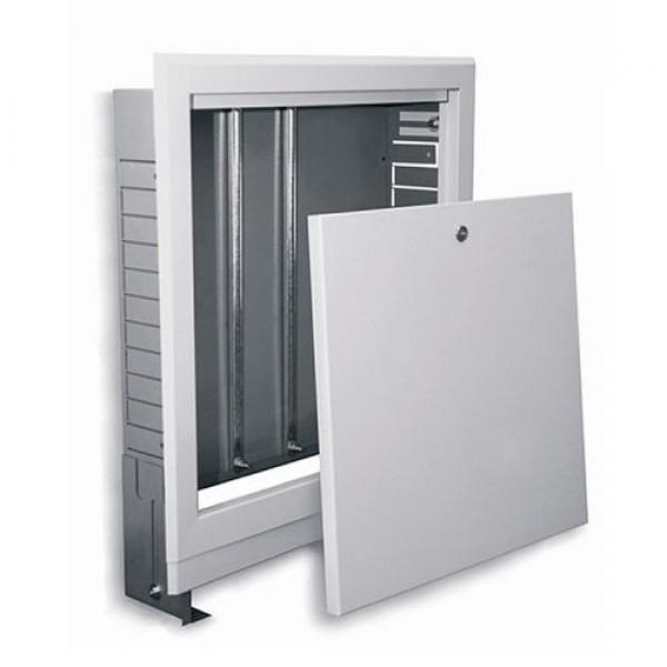 Шкаф для коллектора на  5-7 выходов:610*670*120 (Встраиваемый)