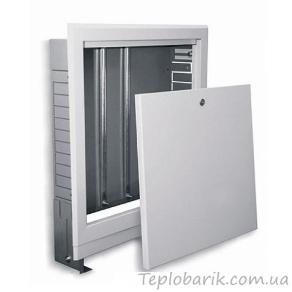 Фото Водяной Теплый пол, Шкафы коллекторные Шкаф для коллектора на  5-7 выходов:610*670*120 (Встраиваемый)