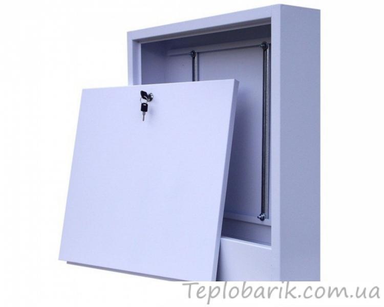 Фото Водяной Теплый пол, Шкафы коллекторные Шкаф для коллектора на 5-7 выходов:550*580*120(Наружный)