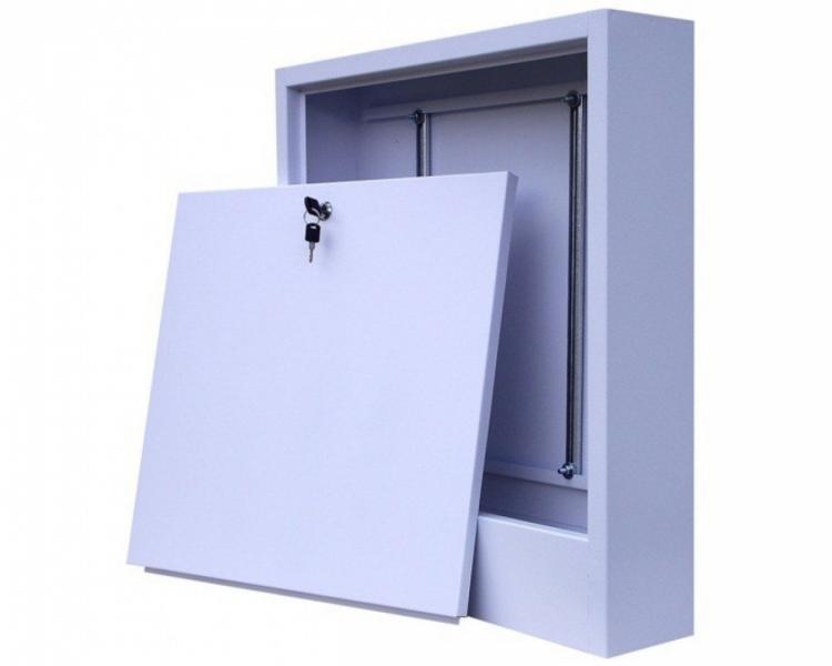 Шкаф для коллектора на 11-12выходов 780*580*120 (Наружный)