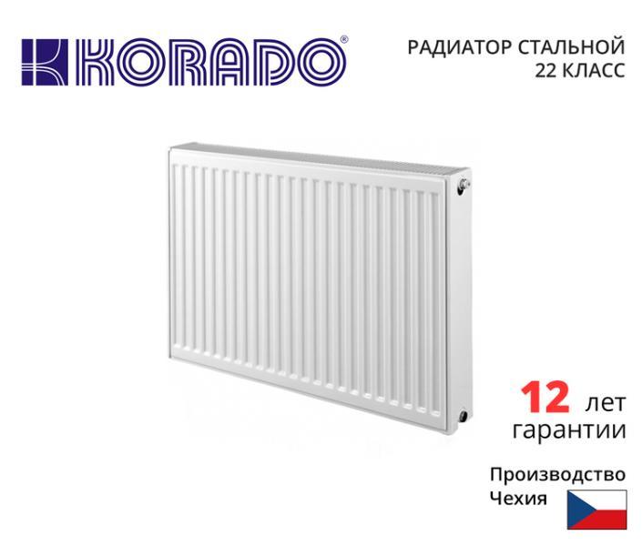 Радиатор стальной марки KORADO 300*1200, 22 класс