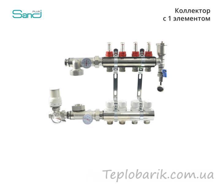 Фото Водяной Теплый пол, Коллектора для теплого пола Коллектор модель 8 Sandi