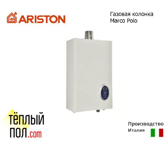 """Газовая колонка ТМ """"Ariston"""" Marсo Polo M2 10L FF, производство: Италия"""