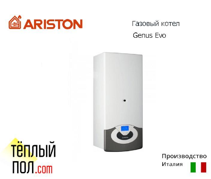 """Газовый котел ТМ """"Ariston"""" Genus Evo System 30 FF с трубой, производство: Италия"""
