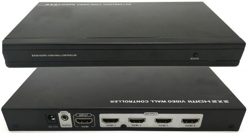 LKV314VW контролер відеостіни 2×2 HDMI
