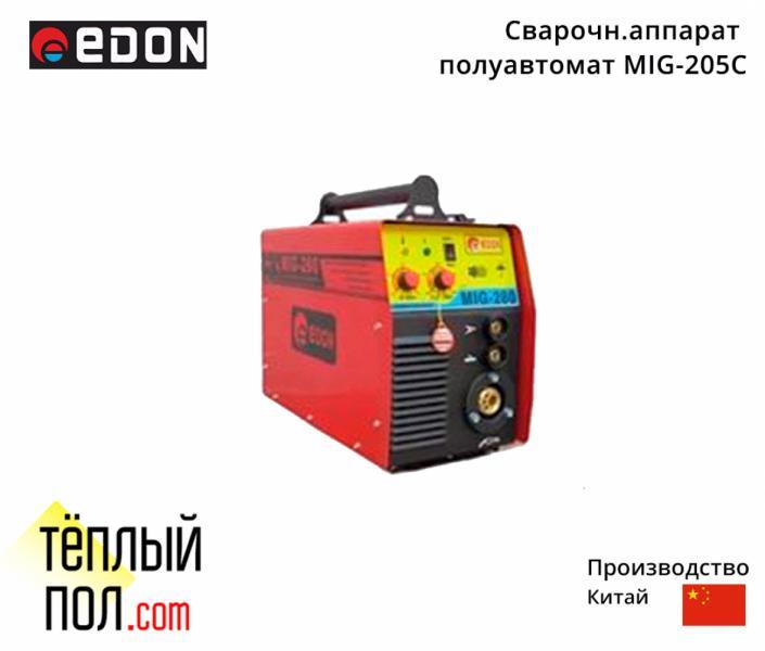 Сварочн.аппарат полуавтомат марки Edon MIG-205C, производство: Китай