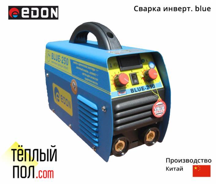 Сварка инверт. марки Edon blue- 300, производство: Китай