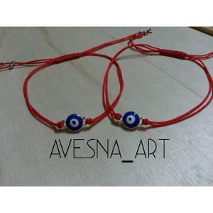 Фото Плетенные браслеты, красная нить, браслеты от сглаза Браслет