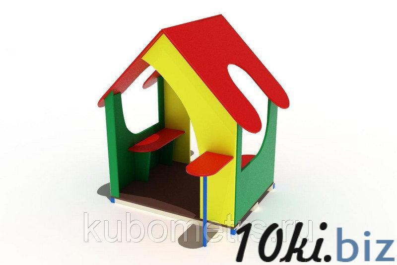 Домик мини 1 купить в Саранске - Игровые площадки, горки, карусели и песочницы с ценами и фото