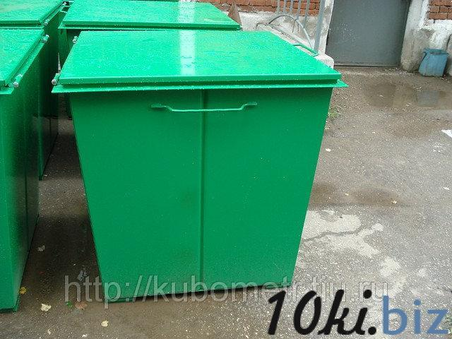 Мусорные баки с крышкой 0,75м3 купить в Саранске - Мусорные контейнеры, баки с ценами и фото